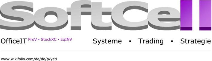 SoftCell EDV | OfficeIT  ProV StockXC EqINV | Systeme Trading Strategie